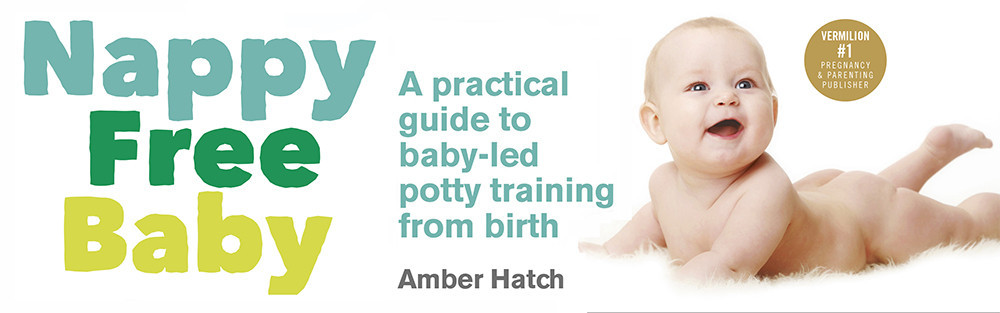 Nappy Free Baby: A comprehensive UK guide to the art of baby-led potty training, otherwise know as elimination communication. Amber Hatch offers free monthly workshops teaching nappy free baby skills and a consultation service.